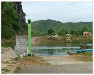 Phong Nha - where the war was going through